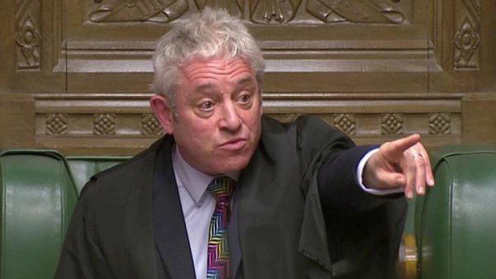 Спикер палаты общин британского парламента Джон Беркоу объявил о скорой отставке
