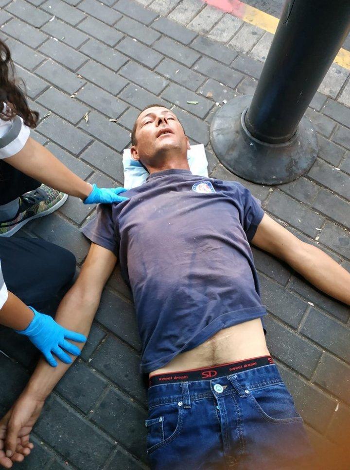 На одной из улиц Израиля найден мужчина из Бельц в критическом состоянии (фото)