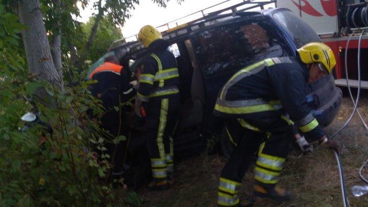 Серьезная авария в Новых Аненах: потребовалась помощь спасателей
