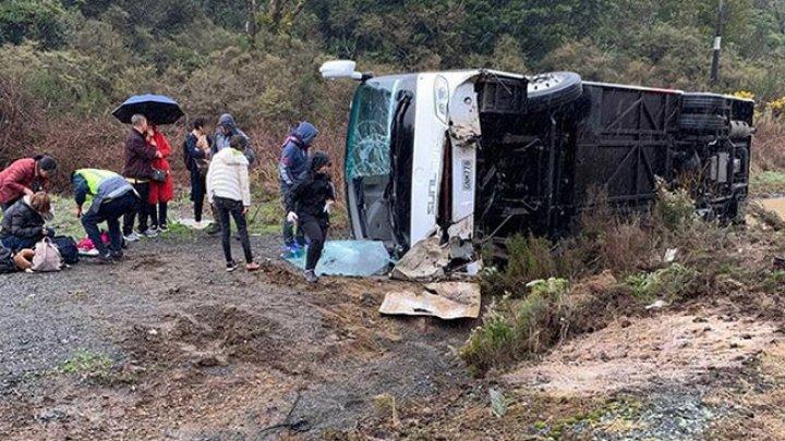 ДТП с туристами в Новой Зеландии: шесть погибших