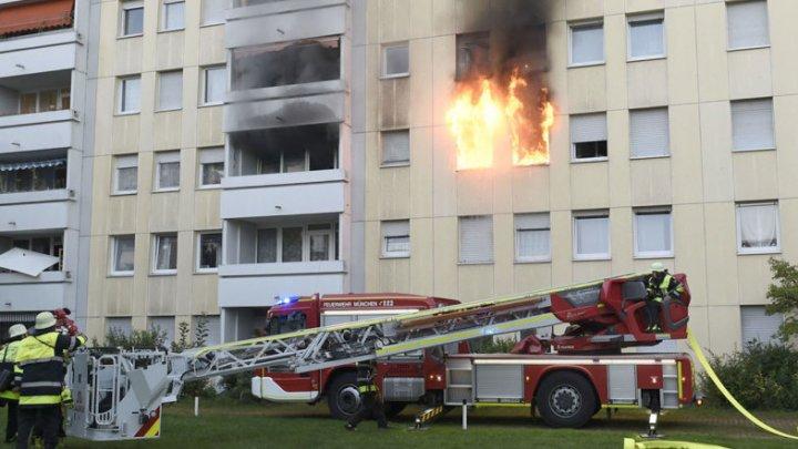 В Германии в многоэтажном доме взорвался электроскутер: 10 пострадавших