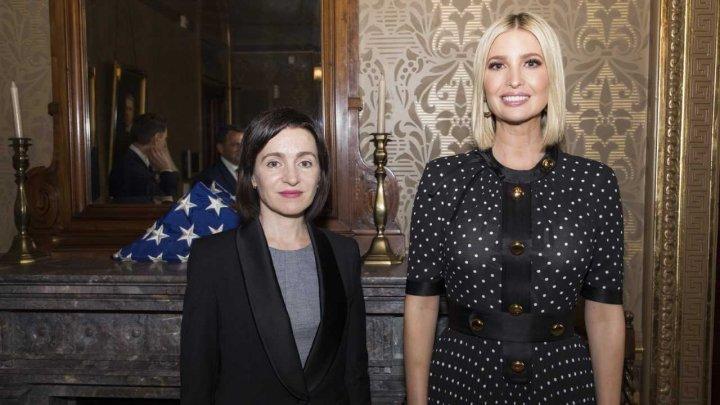 Майя Санду встретилась с Иванкой Трамп (фото)