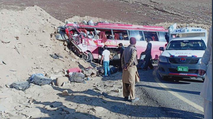 В ДТП с автобусом в Пакистане погибло 26 человек