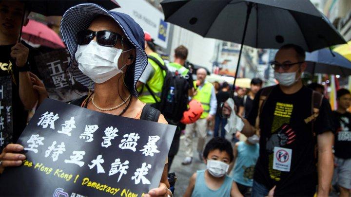 WSJ: демонстранты в Гонконге призывают Конгресс США принять антикитайский закон