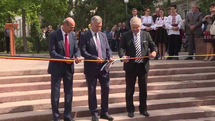 """Врио мэра Кишинева на открытии гранитной лестницы: """"Проделана немалая работа"""""""