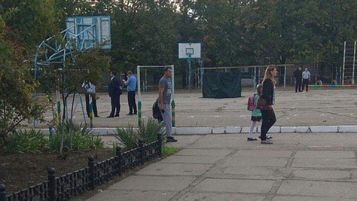 В Тирасполе на школьной спортплощадке расстреляли мужчину
