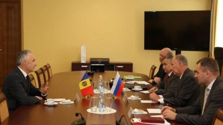 Секретарь Высшего Совета Безопасности РМ Виктор Гайчук встретился в Москве с Секретарем Совета Безопасности России Николаем Патрушевым