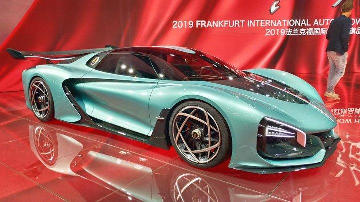 Китайцы показали во Франкфурте конкурента Bugatti Chiron