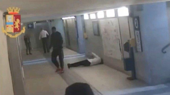 Беженец избил двух итальянок в подземном переходе (видео)