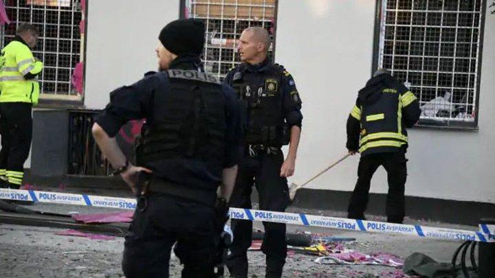 Ночной взрыв на юге Швеции: ранена женщина