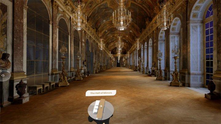 Google поможет побродить по Версалю в одиночестве