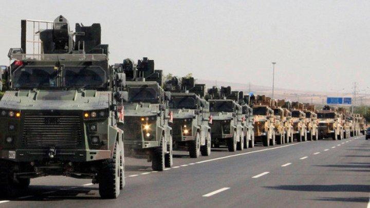 """Армия Турции начала операцию """"Источник мира"""" в Сирии"""