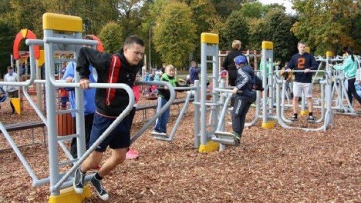 В Кишиневе до конца месяца появятся 85 новых фитнес-площадок