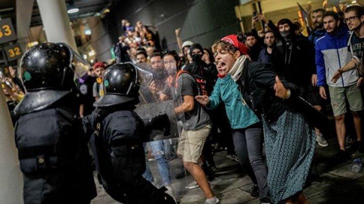Беспорядки в Барселоне: Убытки превысили 2,5 млн евро