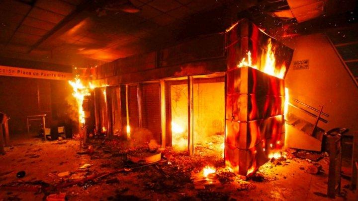 В столице Чили введено чрезвычайное положение из-за протестов