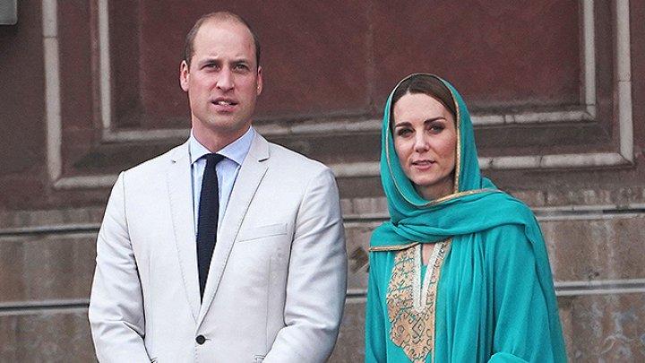 Самолет с Кейт Миддлтон и принцем Уильямом на борту попал в экстремальную ситуацию в небе над Пакистаном (ВИДЕО)