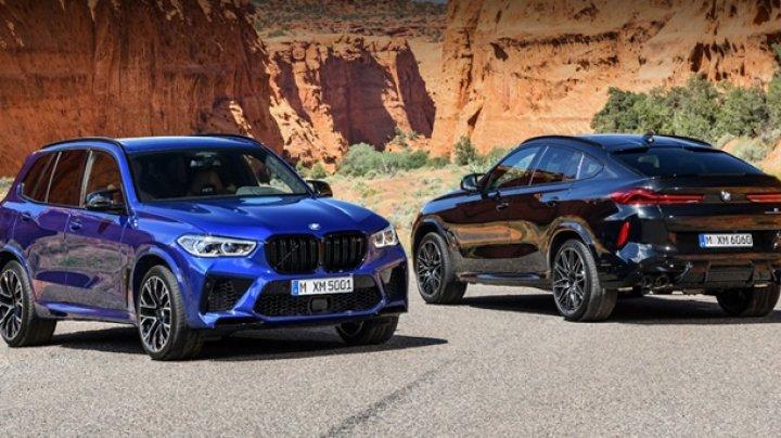 """BMW рассекретила """"заряженные"""" X5 и X6 (ФОТО)"""