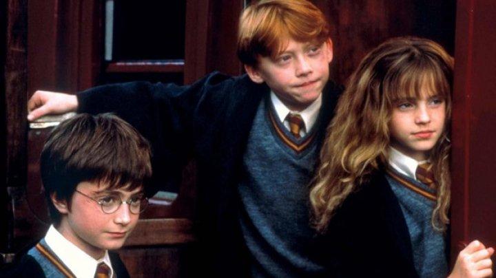 Архивное видео со съемок Гарри Поттера умилило сеть