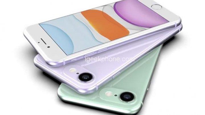 В Сети появились рендеры iPhone SE 2