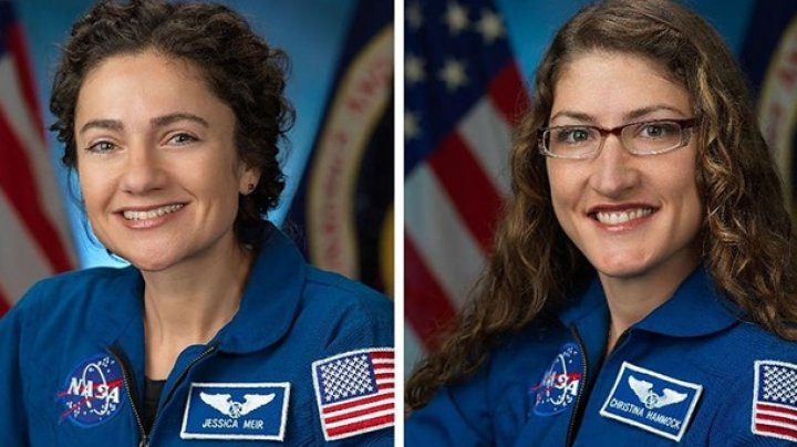 Две женщины впервые в истории вышли в открытый космос (ВИДЕО)