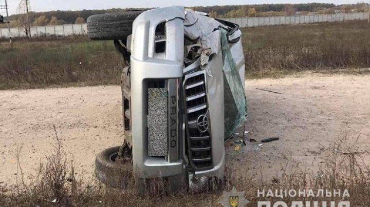 14-летний подросток с друзьями разбился на родительской машине под Киевом (ВИДЕО)