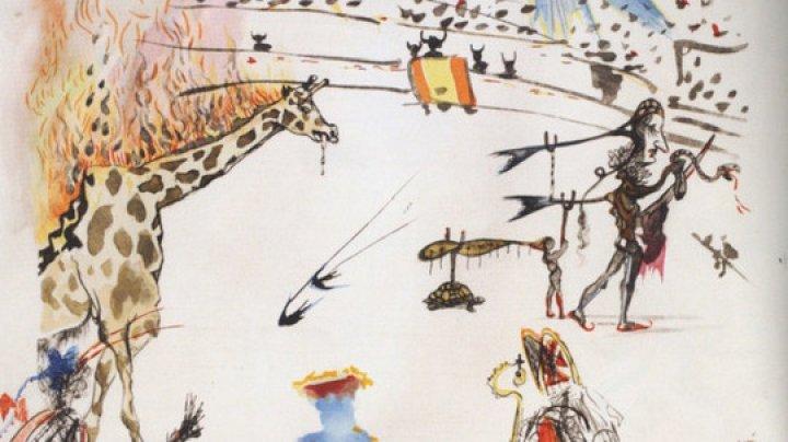 Знаменитую работу Сальвадора Дали украли из музея в США за полминуты (видео)