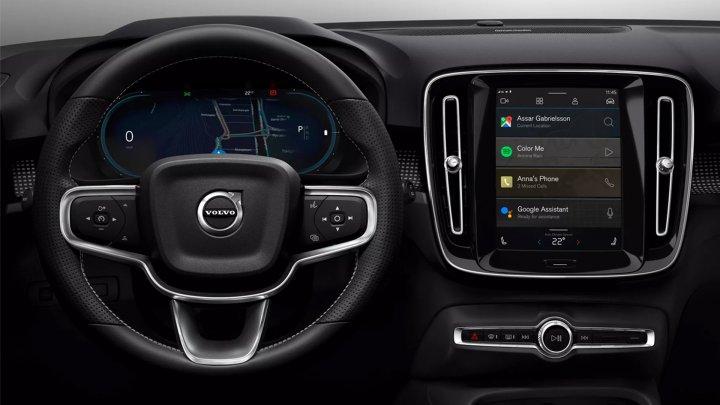 """На первый электрокар Volvo установят """"настоящий"""" Android"""