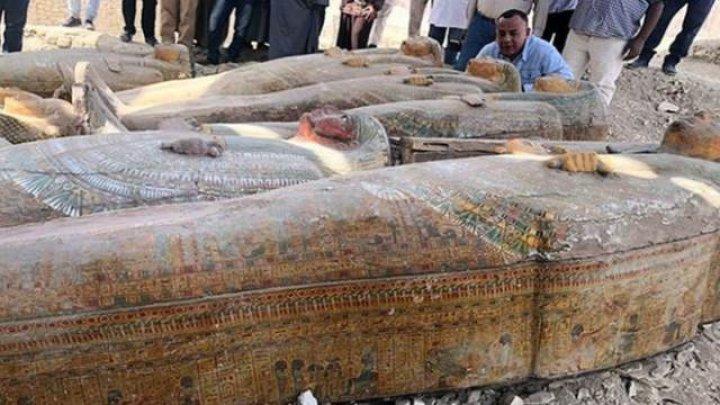 В Египте нашли крупнейший древний тайник с саркофагами