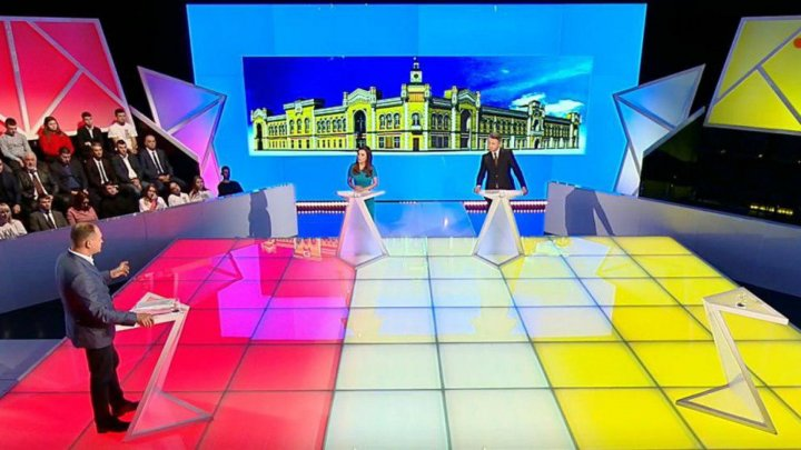 Предвыборные дебаты на Publika TV: в студию пришёл лишь один кандидат в мэры Кишинёва и его сторонники (ВИДЕО)