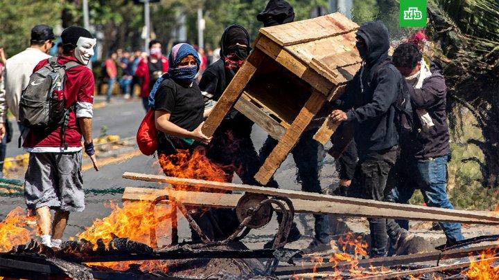Число пострадавших в ходе протестов в Чили превысило 500