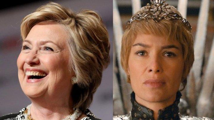 Клинтон сравнила себя с королевой Серсеей из Игры престолов