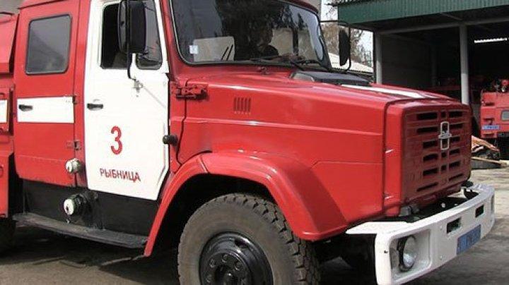 Трёхлетняя девочка спаслась от пожара в Рыбнице