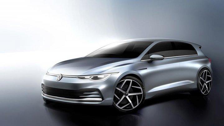 Volkswagen опубликовал изображения нового хетчбэка Golf