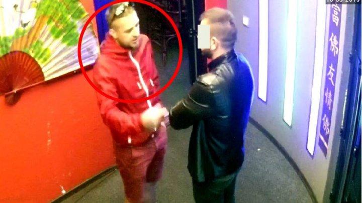 Неизвестный в красном: полиция просит помощи в поиске грабителя (ВИДЕО)
