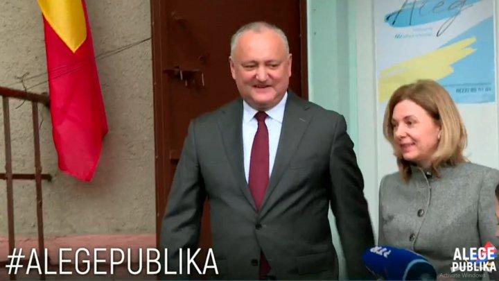 Президент проголосовал: каким должен быть мэр столицы по мнению Игоря Додона