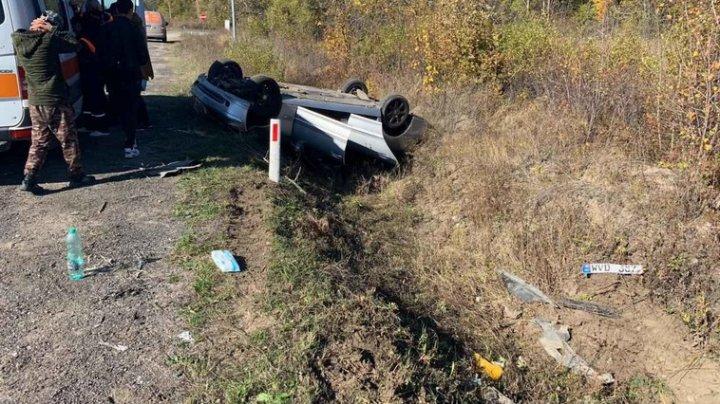 ДТП на трассе Чучулены-Кишинев: две девушки доставлены в больницу