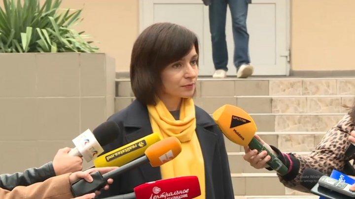 Майя Санду призвала граждан выбирать честных кандидатов
