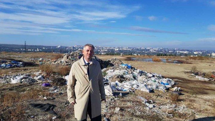 Кандидат в мэры Думитру Цыра предложил свое решение мусорного вопроса