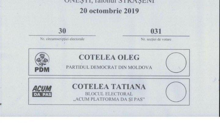 Местные выборы в селе Онешть: Напряженная ситуация в семье Котеля