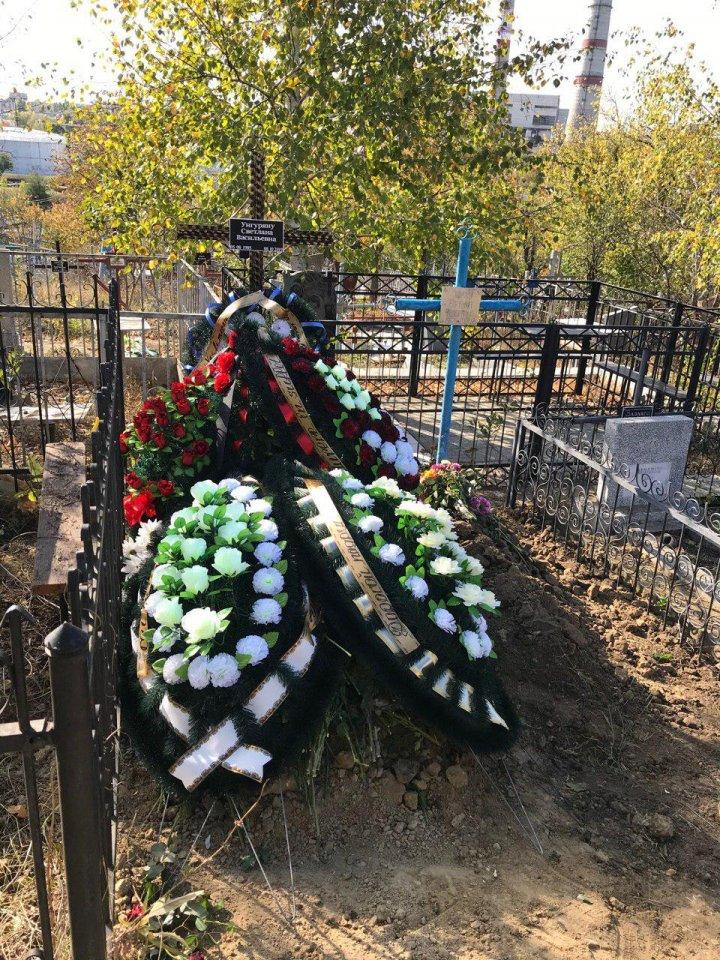 Светлану Унгуряну, виновницу аварии на Буюканах, проводили в последний путь (ФОТО, ВИДЕО)