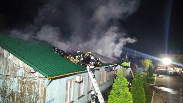 В одесском монастыре сгорела воскресная школа