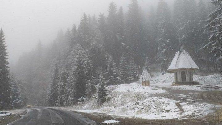 Зима близко. Она уже добралась до некоторых регионов Румынии (ФОТО)