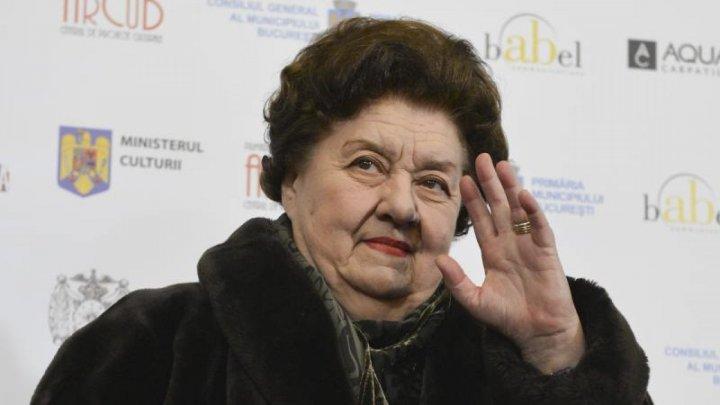 Скончалась румынская актриса родом из Молдовы Тамара Бучучану