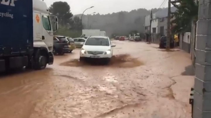 В Каталонии произошло наводнение, есть жертвы