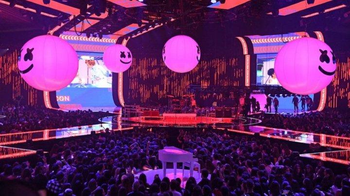 Церемония вручения премий MTV прошла минувшей ночью в Севилье