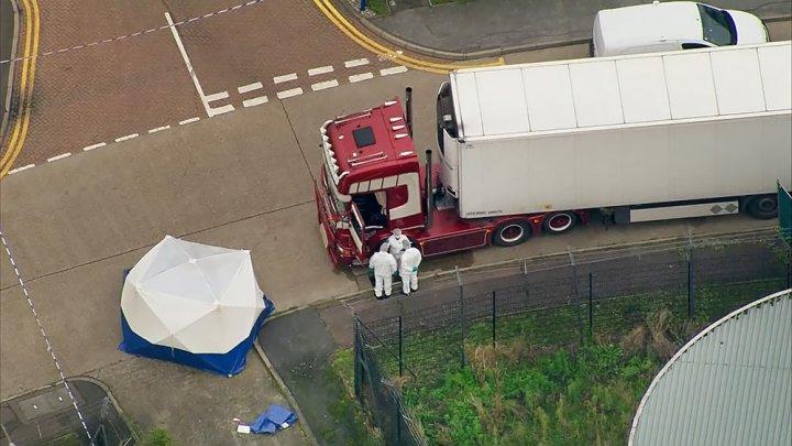 """Дело о """"грузовике смерти"""" из Болгарии: в Британии появился еще один обвиняемый"""