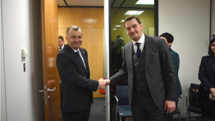 Премьер-министры Молдовы и Украины обсудили сотрудничество и укрепление партнерских отношений между странами
