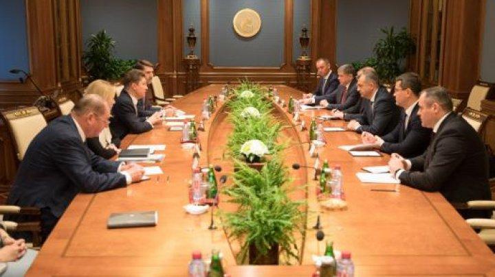 Премьер-министр Ион Кику обсудил поставки газа в Молдову в ходе визита в Москву