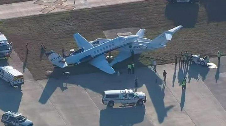 Два самолета столкнулись в международном аэропорту в США