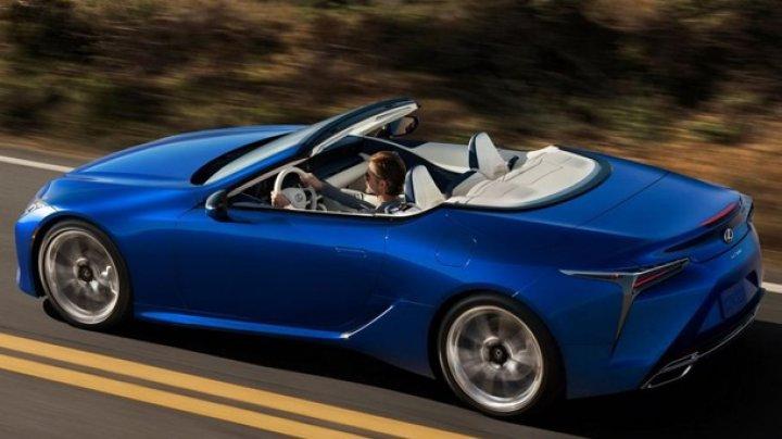 Lexus представил новый кабриолет (ФОТО)